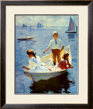 Calm Morning Posters by Frank Weston Benson