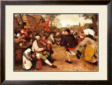 Peasant's Dance Posters by Pieter Bruegel the Elder