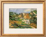 Houses at the Estaque Posters by Paul Cézanne