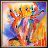 Jazz Explosion II Prints by Alfred Gockel