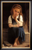 Pause for Thought Prints by William Adolphe Bouguereau
