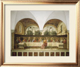 Last Supper Print by Domenico Ghirlandaio