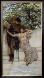 Promise of Spring, c.1890 Prints by Sir Lawrence Alma-Tadema