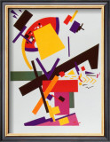 Suprematismo Posters by Kasimir Malevich
