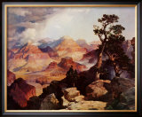 Clouds in the Canyon Art by Thomas Moran