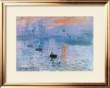Impression Soleil Levant Print by Claude Monet