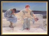 Ask Me No More, 1906 Prints by Sir Lawrence Alma-Tadema