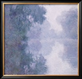 Seine at Giverny, Morning Mist Prints by Claude Monet