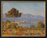 Antibes- Notre-dame Posters by Claude Monet