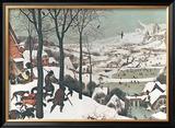 Hunters in the Snow Posters by Pieter Bruegel the Elder