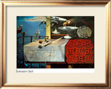 A Lively Still Life Print by Salvador Dalí
