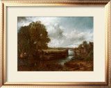 View on the Stour near Dedham Art by John Constable