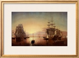 Boston Harbor Prints by Fitz Hugh Lane