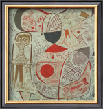 Printed Sheet with Pictures, 1937 Posters by Paul Klee