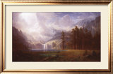 Mt. Whitney Art by Albert Bierstadt