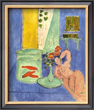 Red Fish and Sculpture, c.1912 Poster by Henri Matisse