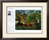 Masterworks of Art - Exotic Landscape Prints by Henri Rousseau