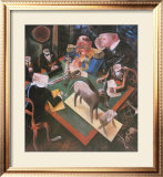 Eclipse of the Sun Print by George Grosz