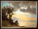 Lake Tahoe, California, 1867 Print by Albert Bierstadt