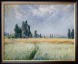 wheatfield  1881 art by claude
