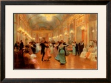 An Elegant Soiree Posters by Victor Gabriel Gilbert