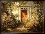 Grandmother's Doorway Posters by Abbott Fuller Graves