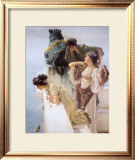 At Aphrodite's Cradle Print by Sir Lawrence Alma-Tadema