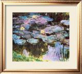 Water Lilies Art by Claude Monet