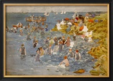 Bathing Prints by Maurice Brazil Prendergast