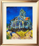 Church at Auvers, c.1896 Poster by Vincent van Gogh