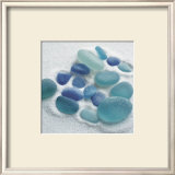 Spanish Sea Glass Art by Celia Pearson