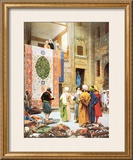 The Carpet Market Posters by Jean Leon Gerome
