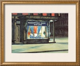 Drug Store Prints by Edward Hopper