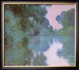Morning On Seine Art by Claude Monet