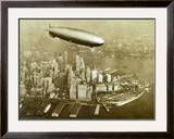 The Hindenburg Airship,1936 Posters