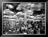 New York, New York, Sky Over Manhattan Print by Henri Silberman