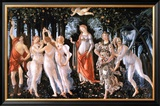Primavera Art by Sandro Botticelli
