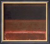 Four Darks in Red, 1958 Art by Mark Rothko