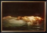 La Jeune Martyre Pôsteres por Paul Delaroche