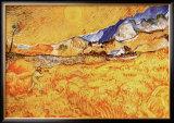 The Harvester Prints by Vincent van Gogh