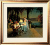 Quiet Evening Posters by Delphin Enjolras