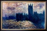 Londres de Parlement Print by Claude Monet