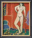 Pink Nude, Red Interior, c.1947 Posters by Henri Matisse