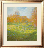 Meadow At Giverny Art by Claude Monet