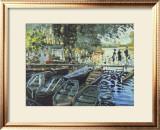 Bathers at La Grenouillers, c.1869 Prints by Claude Monet