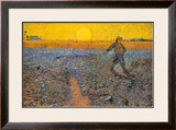 The Sower, c.1888 Print by Vincent van Gogh