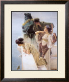 At Aphrodite's Cradle Poster by Sir Lawrence Alma-Tadema