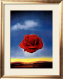 The Rose Poster by Salvador Dalí
