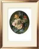 Floral Bouquet I Print by Luis Paret y Alcazar