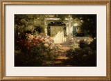 Doorway and Garden Prints by Abbott Fuller Graves